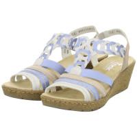 Sandaletten Weiß