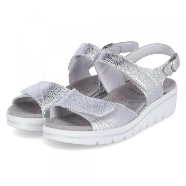Sandalette Silber - Bild 1