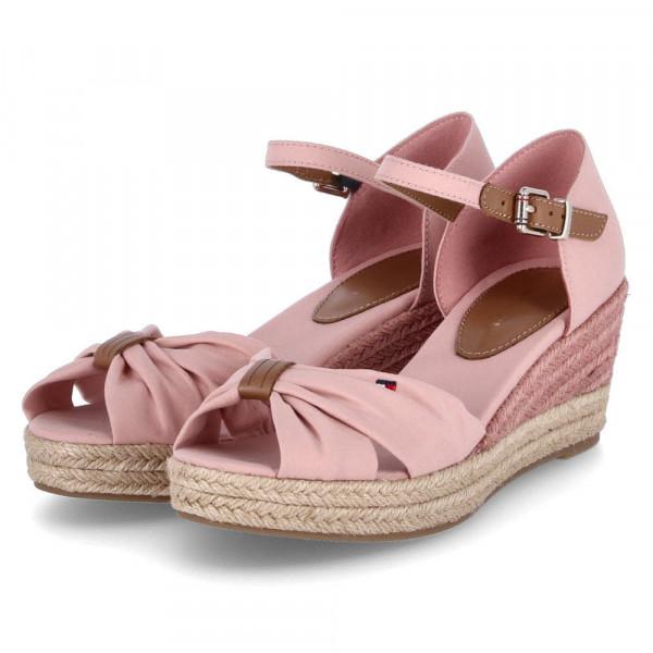 Sandaletten BASIC OPEN TOE MID WEDG Rosa - Bild 1