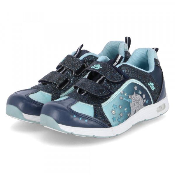Sneaker Low UNICORN V BLINKY Blau - Bild 1