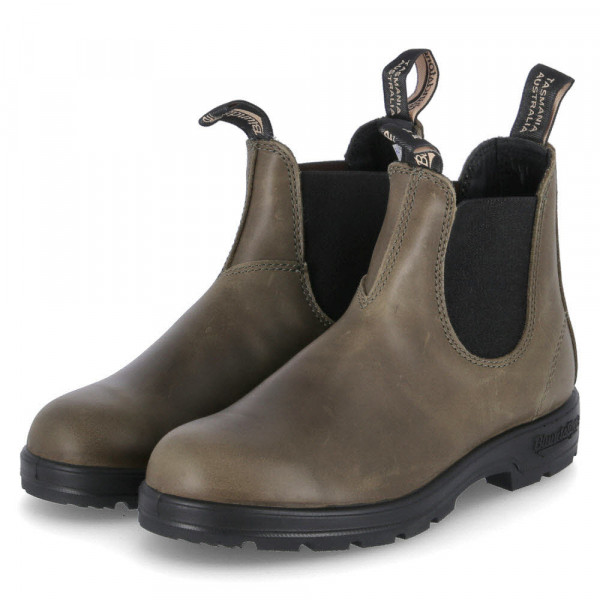 Chelsea Boots Grün - Bild 1