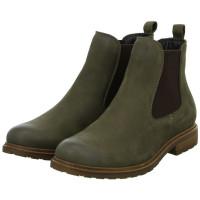 Chelsea Boots Grün