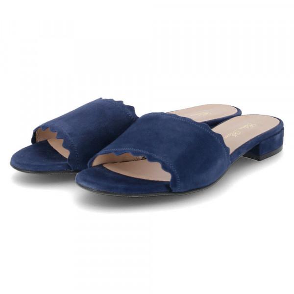 Pantoletten Blau - Bild 1