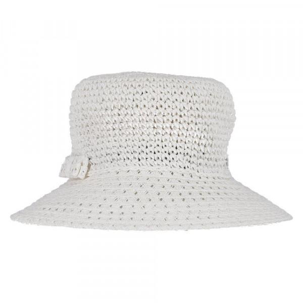 Stroh-Hut Weiß - Bild 1
