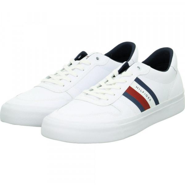 Sneaker Low CORE CORPORATE STRIPES Weiß - Bild 1