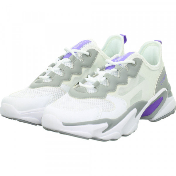 Sneaker Low GLASSY Weiß - Bild 1