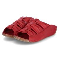 Pantoletten Rot