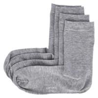 Socken Grau