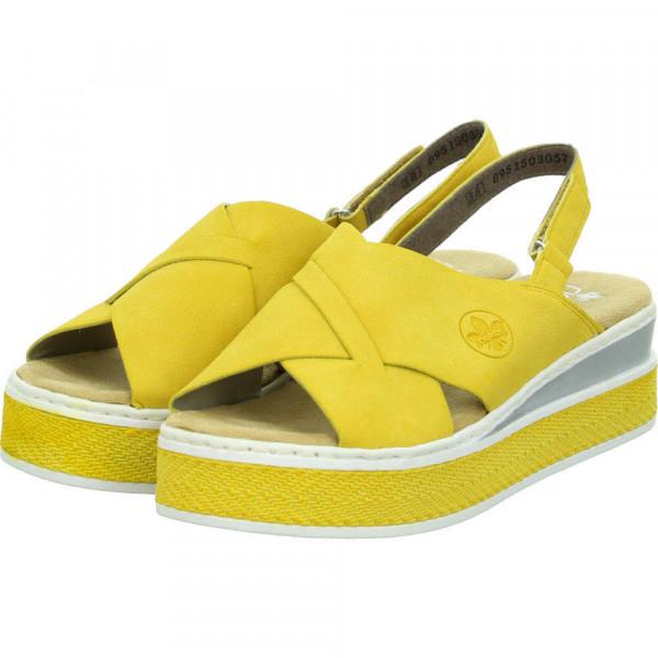 Sandalette Gelb - Bild 1