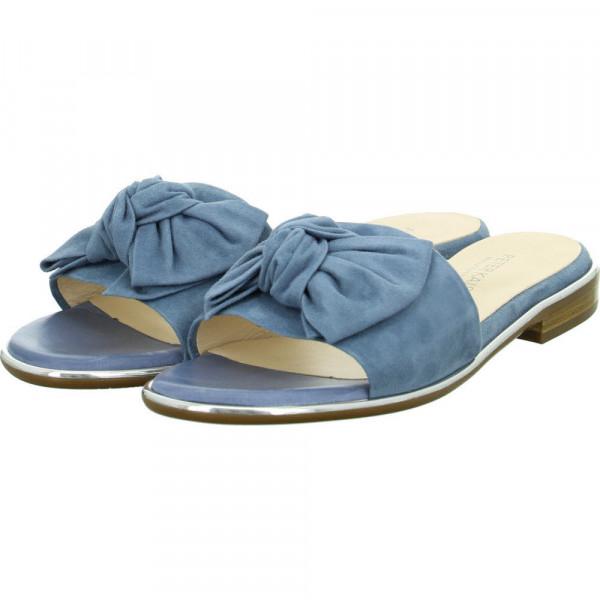 Pantoletten RIVA Blau - Bild 1