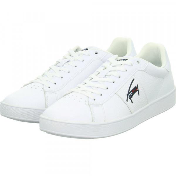 Sneaker Low CUPSOLE TJM LEATHER Weiß - Bild 1