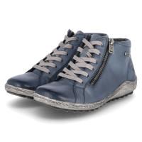 Sneaker High Blau