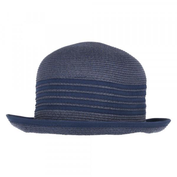 Stroh-Hut Blau - Bild 1