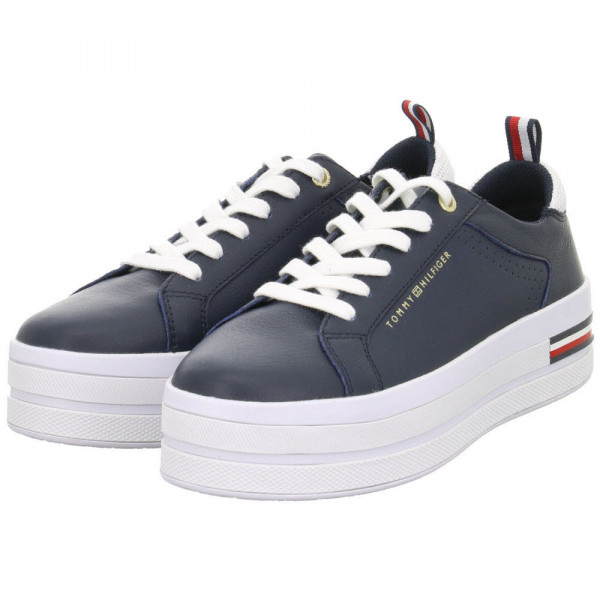 Sneaker MODERN FLATFORM SNEAKER Blau - Bild 1