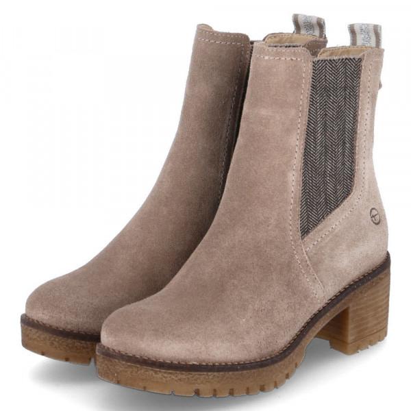 Chelsea Boots Taupe - Bild 1