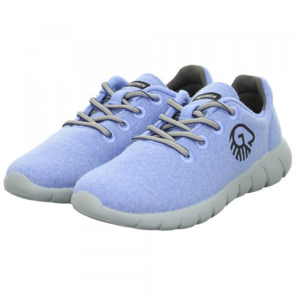 Sneaker Low MERINO RUNNERS Blau - Bild 1