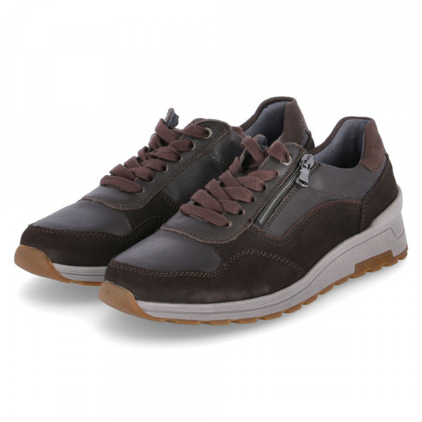 Sneaker Low DENVER PORTO STRAUSS Braun - Bild 1