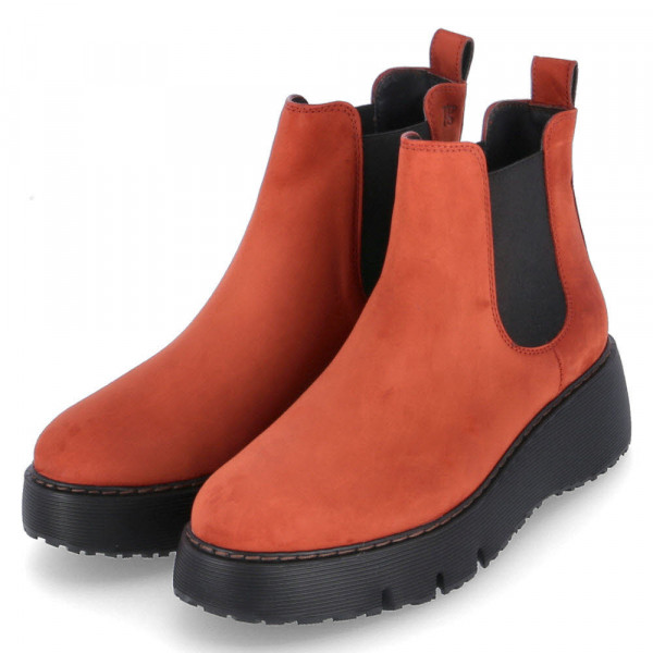 Chelsea Boots Orange - Bild 1