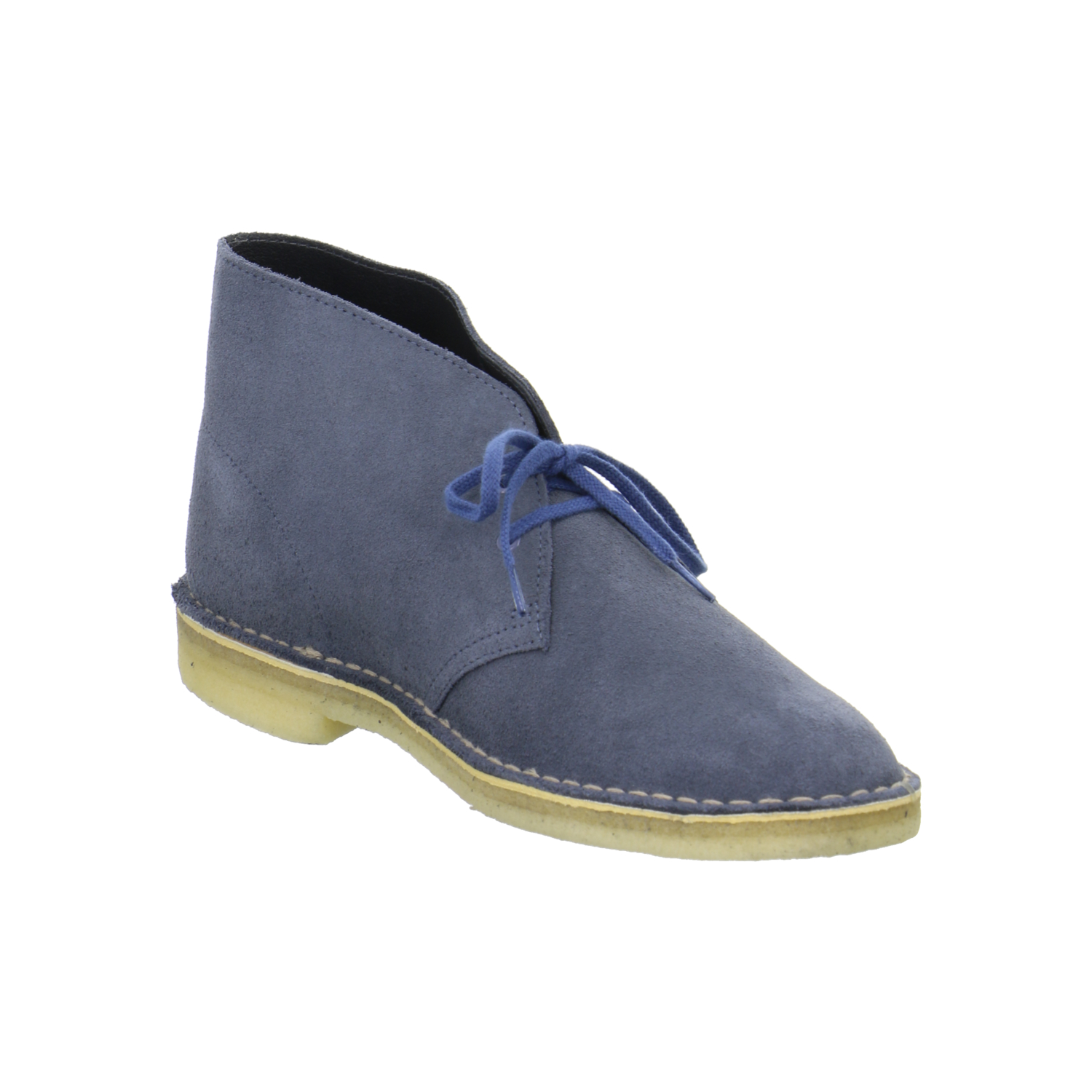 clarks originals desert boots herren rauleder blau 261068127 ebay. Black Bedroom Furniture Sets. Home Design Ideas