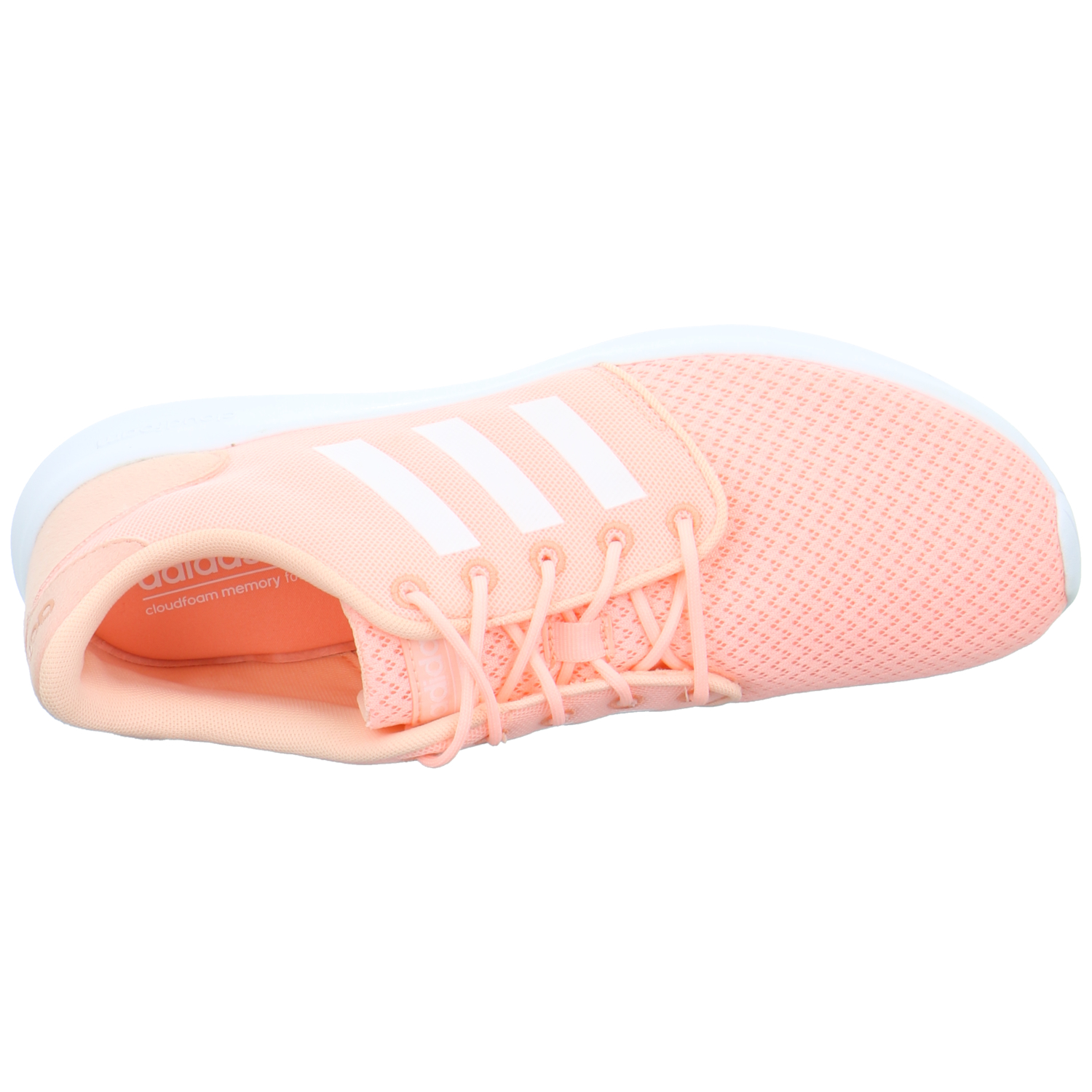 adidas cloudfoam qt racer w damen sneaker textil rosa. Black Bedroom Furniture Sets. Home Design Ideas